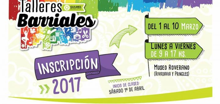 Talleres Barriales 2017